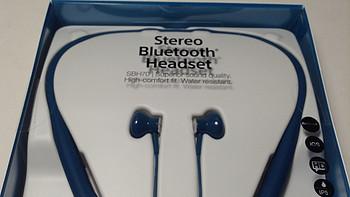 平头蓝牙运动耳机的极致之选:SONY 索尼 SBH70 运动蓝牙耳机
