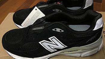 大妈家第二笔:new balance M990 V3 男款跑步鞋 晒单