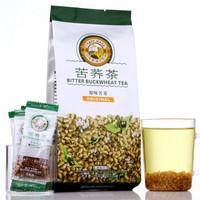 【京东超市】中国香港品牌 虎标 茶叶 全胚芽全颗粒苦荞茶196g/袋
