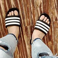 撒旦晒物篇:夏季的必备出街品——adidas 阿迪达斯 软底拖鞋