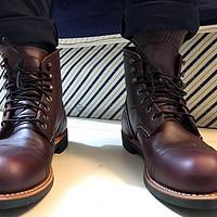 来自美利坚的信仰第二弹:RED WING 红翼 8119 工装鞋 开箱&尺码选择