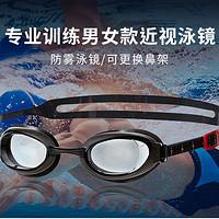 放弃隐形眼镜:Speedo 速比涛 近视泳镜开箱评测