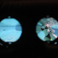 买飞机杯送的VR眼镜开箱,在家就能偷看美女洗澡