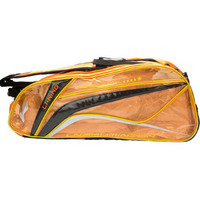 李宁(LI-NING)羽毛球拍包6支装国家队赞助款 ABJK032 橙黑