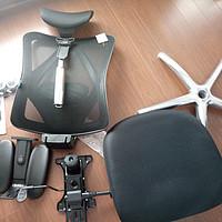 西昊M18人体工学电脑椅购买使用感受