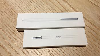 论 MIJIA 米家 中性笔 vs M&G 晨光 金属笔杆 的使用体验