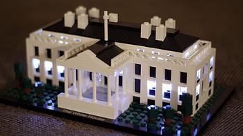 我的LEGO建筑系列 篇八:21006 White House 及亮灯改造