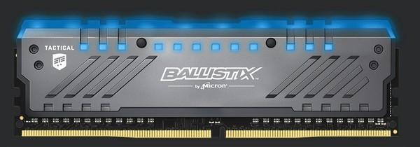 终于上了RGB幻彩:crucial北京0度野战路人 英睿达 发布 Ballistix Tactical Trac