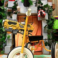 速度与激情——吴工为儿子做的泡泡枪三轮车
