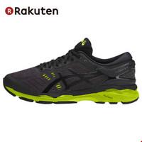 亚瑟士(asics)GEL-KAYANO 24 男士稳定支撑跑步鞋慢跑鞋 标准TJG957-9085黑绿 27.5