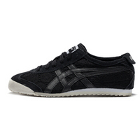 Onitsuka Tiger小黑鞋 运动休闲鞋女 MEXICO 66 D659N-4242 黑色/黑色 37