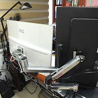 电脑显示器支架进化纪 篇三:爱格升巨臂的碰撞——爱格升 LX 45-384-026和LX 45-360-026