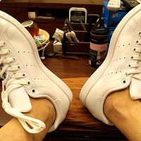 2017年败鞋之旅 篇三:小白鞋再度来袭,记三叶草stan smith全白款