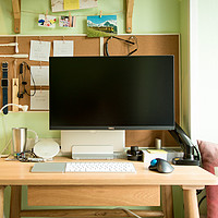 #桌面故事#占地半平米,打造小清新办公桌面