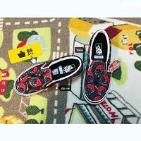 给儿子买的第N双鞋 篇二十六:Vans Classic Slip-On 印花一脚蹬帆布鞋