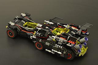 #本站首晒# LEGO 乐高 70917 蝙蝠侠究极战车
