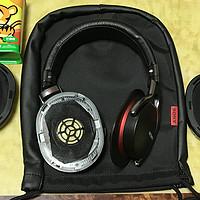 SONY 索尼 MDR-1RMK2 头戴式耳机 更换耳机棉罩作业