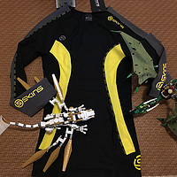鸡年吉晒单 篇五:SKINS 思金斯 DNAmic系列 男款长袖压缩衣开箱晒单