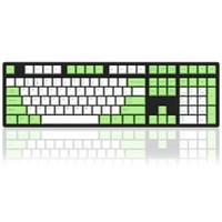 TOM带你玩外设 篇一:今年流行原谅绿——AKKO Ducky One 108 草木绿PBT热升华 机械键盘