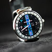 #本站首晒# 当奢侈品遇上数码 — Louis Vuitton 路易威登 Tambour Horizon 智能手表