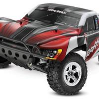 Traxxas 1/10 Slash 2WD Short Course 2.4GHZ Vehicle, Red/Black