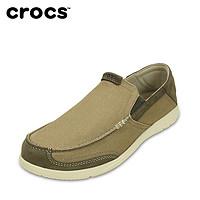 Crocs帆布鞋 男鞋卡骆驰追风沃尔卢乐福鞋 男 透气休闲鞋 203473