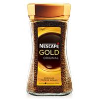 澳洲进口 雀巢Nestle 速溶金牌原味黑咖啡 100g