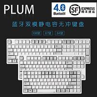 顺丰Plum静电容 NIZ蓝牙双模无线75/84/87/108键普拉姆静电容键盘