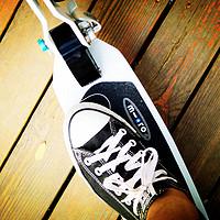 micro 米高 white 成人滑板车 体验