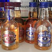 我的威士忌之路 篇四:终于到了绕不开的CHIVAS 芝华士,一次把12年和18年的买齐了