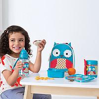 #原创新人#Skip Hop儿童绝热饭盒之猫头鹰