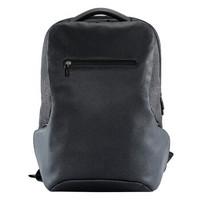 小米(MI)商旅多功能双肩包 商务电脑包15.6英寸 双肩背包 耐磨防泼水 黑色