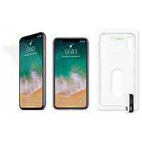 康宁超薄离子强化玻璃:belkin 贝尔金 推出 两款iPhone X屏幕保护膜