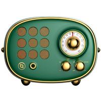 猫王(MAO KING)radiooo积木式收音机便携蓝牙音箱蓝牙音响 波普(绿)