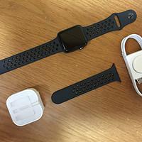 拔表记~Apple 苹果 Watch S3 NIKE+ 42mm GPS 智能手表