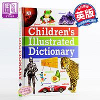 儿童图解字典词典Children's Illustrated Dictionary 英文原版儿童英语学习工具书英文版