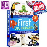 麦克米伦儿童英文图解字典词典英文原版 儿童英文字典词典 插图 MacMillan First Dictionary 英文版书 英文版工具书