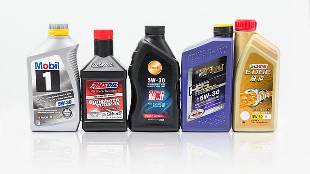 5位车界大V的机油哪家强?来测试数据里找答案