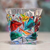 美酒美杯冰酒石—ZECCHIN 穆拉诺 彩绘玻璃威士忌杯 + CHIVAS 芝华士 新境 威士忌 + 滑石冰酒石 晒单