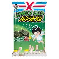 旺旺浪味仙 膨化食品 零食薯片 海苔味70g