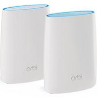 美国网件(NETGEAR) Orbi 奥秘 智慧分身多路由系统 多层别墅/大户型覆盖AC3000无线路由套装