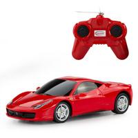 星辉遥控车模型1:24法拉利458Italia男孩儿童玩具46600红色车子+遥控器
