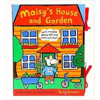 【英文原版】Maisy's House and Garden小鼠波波的房子和花园 立体场景