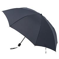 MUJI两面圆形纽扣2种折法折叠伞