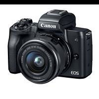 双核对焦与4K视频摄录:Canon 佳能 国内发布 EOS M50 无反相机