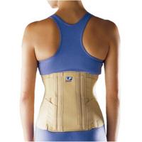 LP903高背式强支撑双束带加压护腰带术后康复运动护具 男女 M