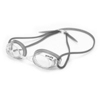 英发(YINGFA) 专业竞速防雾泳镜比赛训练泳镜 小镜框减小阻力Y570AF 02黑色透明镜片