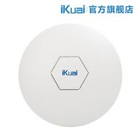 iKuai 爱快 H1 2.4G 企业级吸顶无线AP 微信连WiFi H1(不含PoE电源)