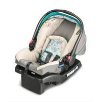 葛莱(GRACO) 美国葛莱GRACO婴儿提篮0-1岁新生儿五点式汽车安全座椅 舒尔系列 蓝色