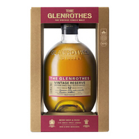 洋酒Glenrothes格兰路思斯佩塞单一麦芽苏格兰威士忌 12年
